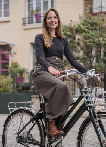 Jupe de pluie vélo - Georgia in Dublin