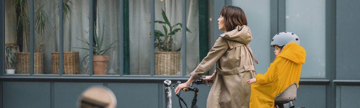 Vêtement pluie vélo enfant   JE SUIS À VÉLO