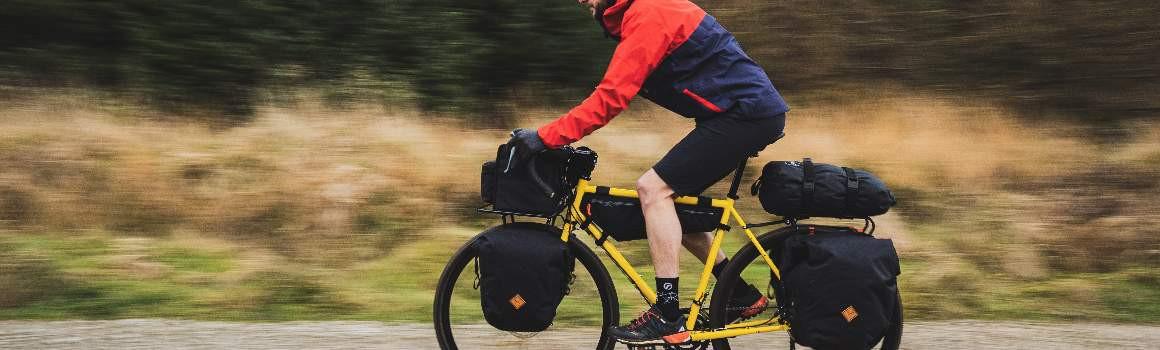 Sacoches avant de voyages à vélo et de Bikepacking | JE SUIS À VÉLO