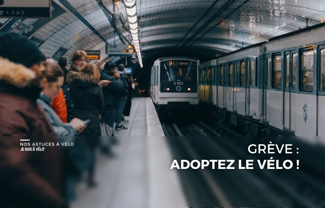 Grève : 5 étapes pour passer du métro au vélo