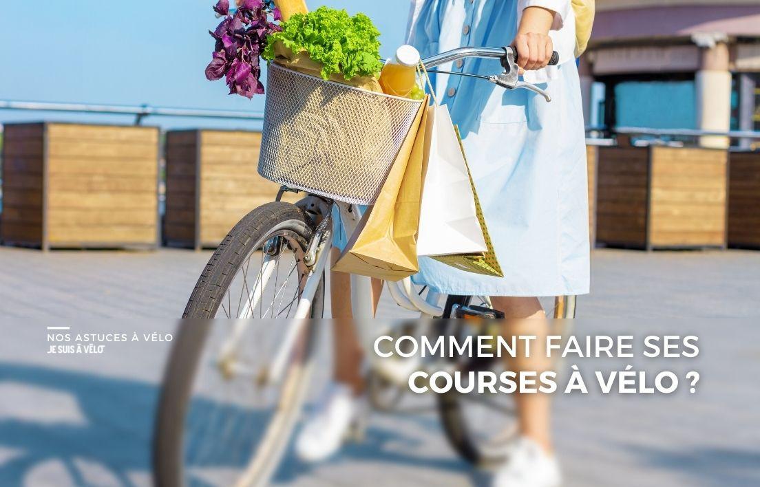 Nos conseils pour faire ses courses à vélo