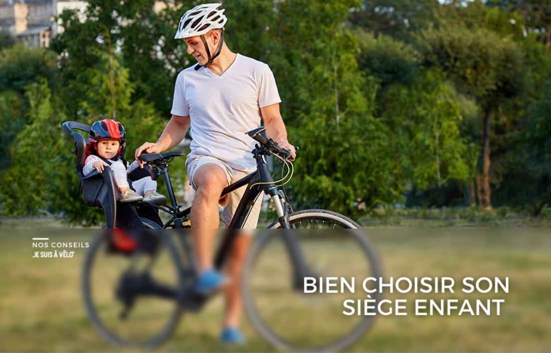 Comment choisir un siège vélo pour son enfant ?